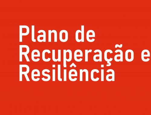 PLANO DE RECUPERAÇÃO E RESILIÊNCIA (PRR)